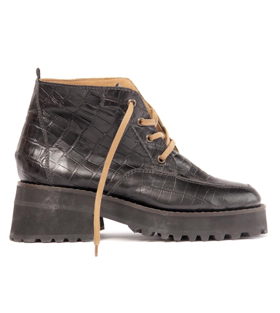 d85aca06d42 Square Boots Black